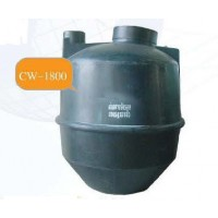 CW-1800 ถังเก็บน้ำใต้ดิน  ความจุ 1800 ลิตร