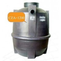 CZA-1200  ถังบำบัดน้ำเสียรวมชนิดไร้อากาศ  ความจุ 1200 ลิตร