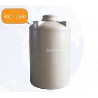 RC-1500 ถังเก็บน้ำ-สารเคมี ความจุ  1500  ลิตร ทรงขวด  ฝาเกลียว  ด้านข้าง