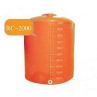 RC-2000 ถังเก็บน้ำ-สารเคมี ความจุ  2000  ลิตร ทรงขวด  ฝาครอบ  ด้านข้างเรียบ
