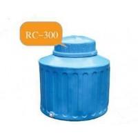 RC-300  ถังเก็บน้ำ-สารเคมี  ความจุ  300 ลิตร  ทรงขวด ฝาครอบ