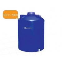RCC-2000  ถังเก็บน้ำ-สารเคมี ความจุ   2000  ลิตร ทรงขวด  ฝาเกลียว ข้างเรียบ