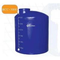RCC-3000  ถังเก็บน้ำ-สารเคมี ความจุ   3000  ลิตร ทรงขวด  ฝาครอบ เยื้องศูนย์กลาง